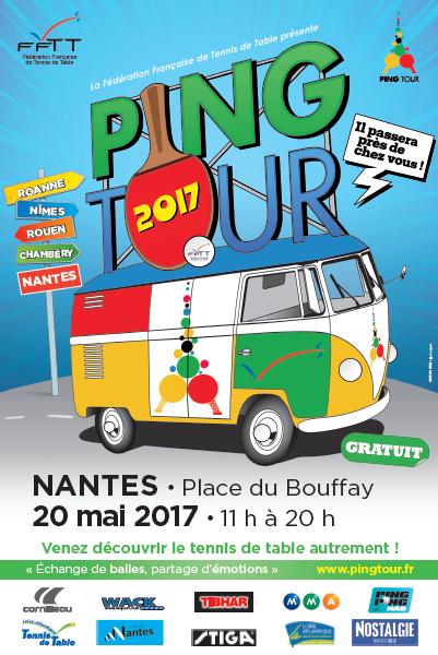 Ping Tour Nantes 2017