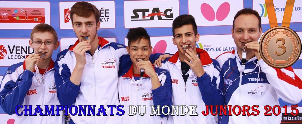 Championnat du monde juniors 2015