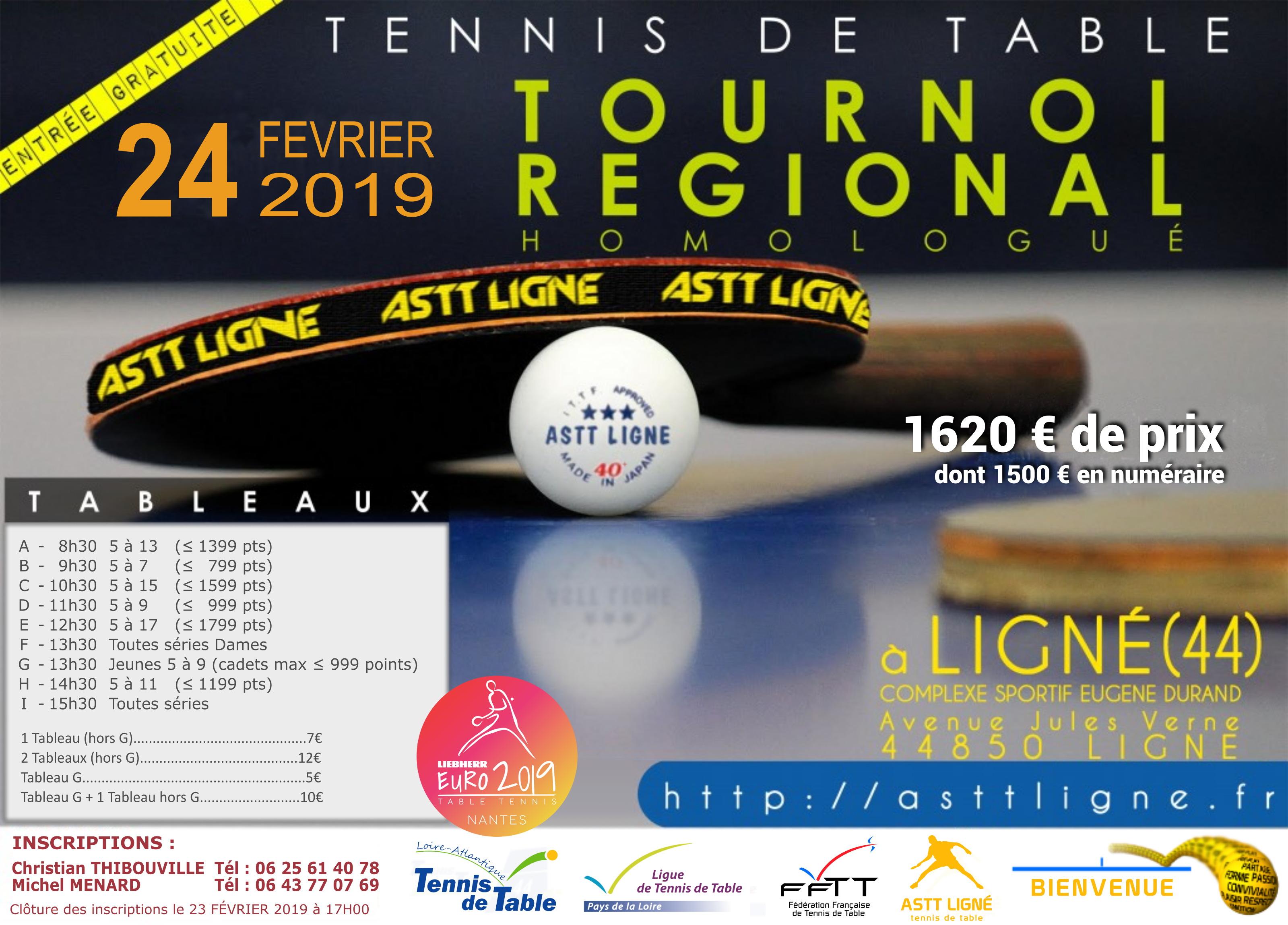 A S T T Ligne Tennis De Table
